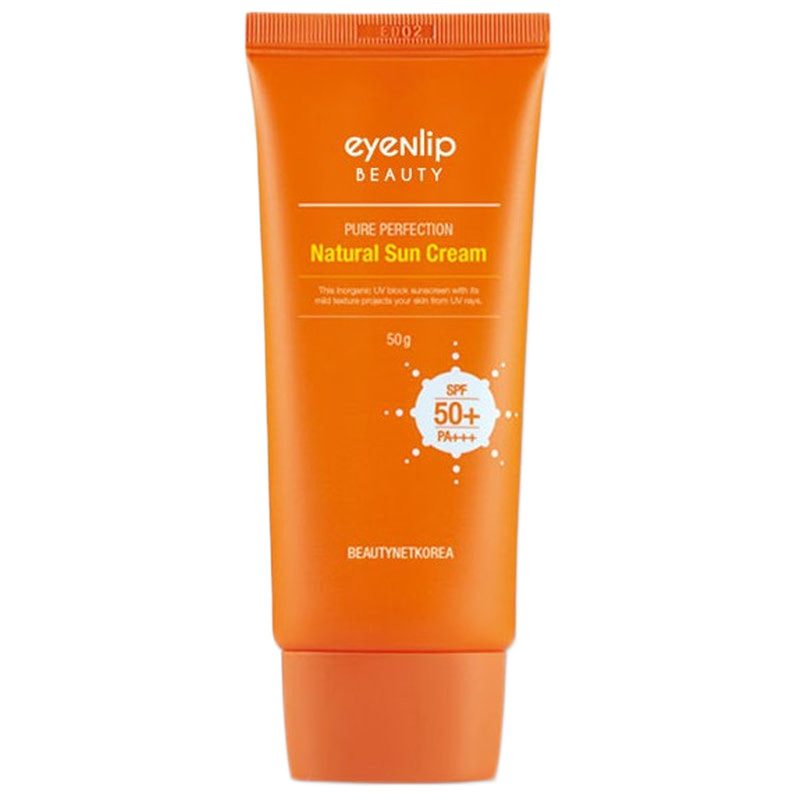 Солнцезащитный крем Eyenlip Pure Perfection Natural Sun Cream SPF50+ 50 мл (8809555250074)