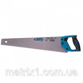 "Ножовка по дереву ""PIRANHA"", 500 мм, 7-8 TPI, зуб - 3D, каленый зуб, 2-х комп. рук-ка// GROSS"