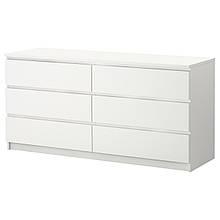 Комод Лайт Еко 6 Скриньки Білий