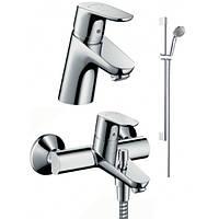 Набор смесителей для ванны 3в1 Hansgrohe Focus 31934000