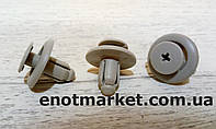 Крепление накладки бампера Nissan. ОЕМ: 94858864, 0155308061, 0155306941