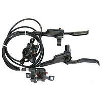 Дисковые гидравлические тормоза на велосипед. SHIMANO MT-200 160 мм. Гидравлические тормоза.