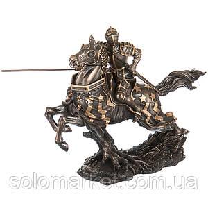 Статуетка Veronese Вершник на коні 31 см 70040 A4