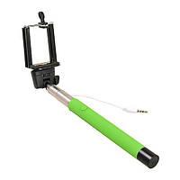 Палка для селфи Monopod Selfie AUX Z07-5S зеленый