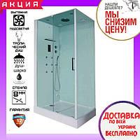 Гидромассажный паровой душевой бокс 120х90 см Orans SR-86120BS (L)