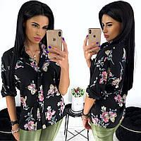 Женская рубашка / софт / Украина 24-1267
