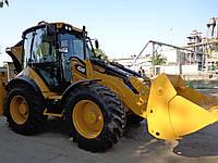 Услуги экскаватора-погрузчика Caterpillar 434 F