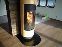 Кафельная печь на дровах Cadiz, каминофен , печь камин