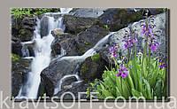 """Картина на холсте """"Водопад 2 '' ( 54х89 см )"""