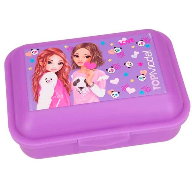 Ланч-Бокс TOP-Model (Ланч-бокс для еды в школу, With the lunch box in a stylish TOP Model Lexy&Fergie