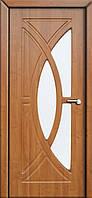 Межкомнатные двери Неман модель Фантазия ПО ольха