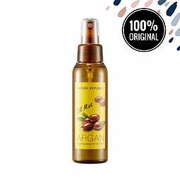 Увлажняющий мист для волос с аргановым маслом NATURE REPUBLIC Argan Essential Oil Hair Mist, 105 мл