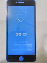 Захисне 5D скло Full Glue iPhone 6 (черн.)