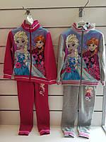 Спортивный костюм 2 в 1 на флисе для девочек оптом, Disney, 104-140 см,  № FR-G-JOGSET-47