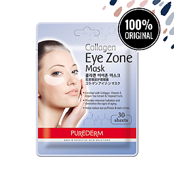 Коллагеновые патчи под глаза PUREDERM Collagen Eye Zone Mask, 30 шт