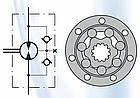 Гидромотор HWF 535 см3 M+S Hydraulic, фото 2