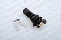 Фильтр водяной с отверстием под манометр для газовых котлов  Ariston Matis.Артикул 65104711.