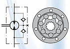 Гидромотор HWF 550 см3 M+S Hydraulic, фото 2