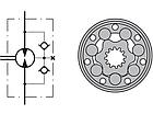 Гидромотор RW 50 см3 M+S Hydraulic, фото 2