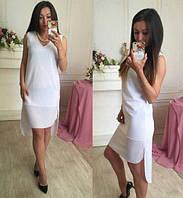 Спортивная женское платье мини на лето