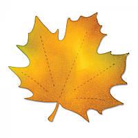 Нож для высечки Sizzix Bigz Die - Leaf, Maple, A10162, фото 1