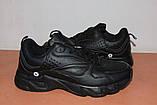 Кроссовки подростковые 36,38,41 р черные BONOTE арт 8729, фото 8