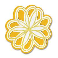 Ножи + штампы Sizzix 4PKs - Flowers, Doodle, 657580