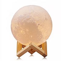 Настольная лампа Луна 3d Мoon light lamp, фото 1