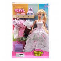"Кукла Defa Lucy 8012 ""Модница"" / Кукла с нарядами и аксессуарами"