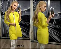 Женский пиджак удлиненный 248 Аб