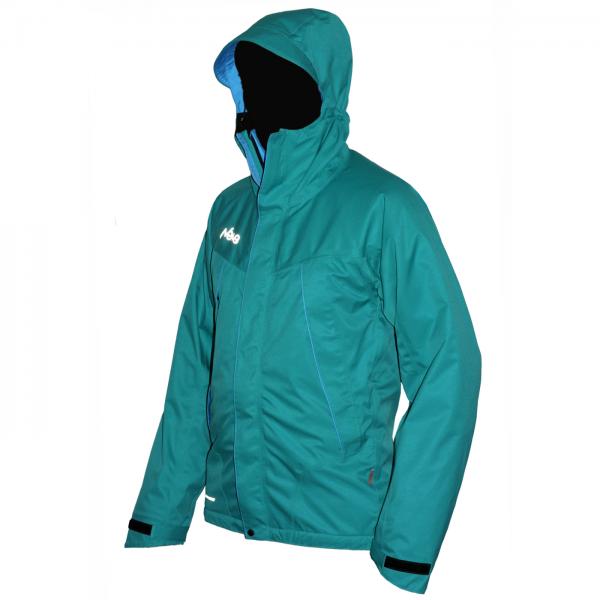 Мембранная штормовая куртка Neve Mission зеленая