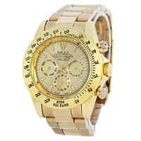 Точная копия мужских наручных часов Rolex Cosmograph Daytona AA+ All Gold