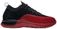 Мужские кроссовки Nike Air Jordan Trainer Prime Flu Game (найк аир джордан трейнер прайм, черные/красные)