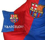 Кресло груша с вышивкой Барселона, Оксфорд, фото 3
