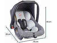 Детское автокресло-люлька для новорожденных Lionelo Lo - Noa plus 0-13 кг