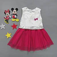 Нарядное платье для девочки. Маломерит. 6 лет