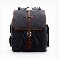 Винтажный молодежный городской рюкзак S.c.cotton, фото 1