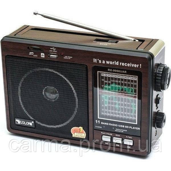 Радиоприемник аккумуляторный Golon RX-9966