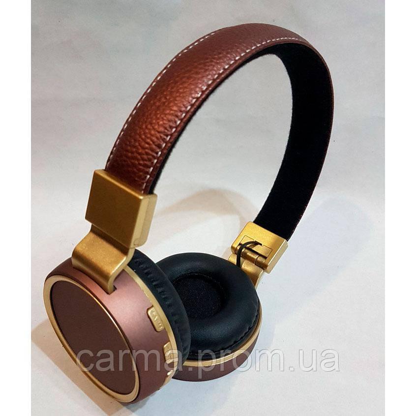 Беспроводные наушники Wireless HEADSET V684 Bronze, фото 1