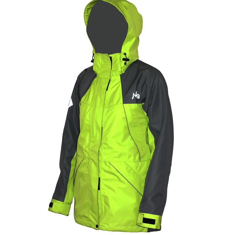 Мембранная штормовая женская куртка Neve Alice салатовая