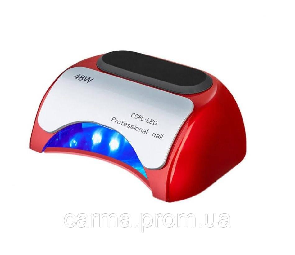 Лампа для маникюра Sun 18K Red