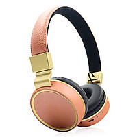 Беспроводные наушники Wireless HEADSET V684 Brown