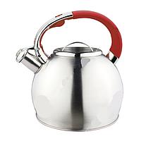 Чайник со свистком ConBrio СВ410красн 3л