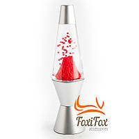 Лава лампа красная Вулкан 32 см