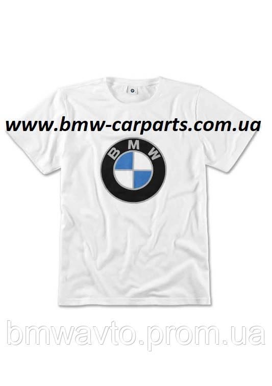 Футболка унисекс BMW T-shirt, Color Logo, Unisex 2019, фото 2