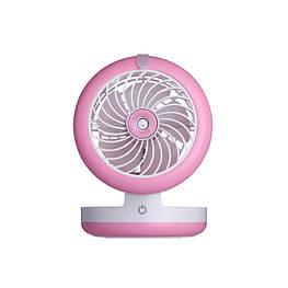 Міні вентилятор з зволожувачем і вбудованим павербанком
