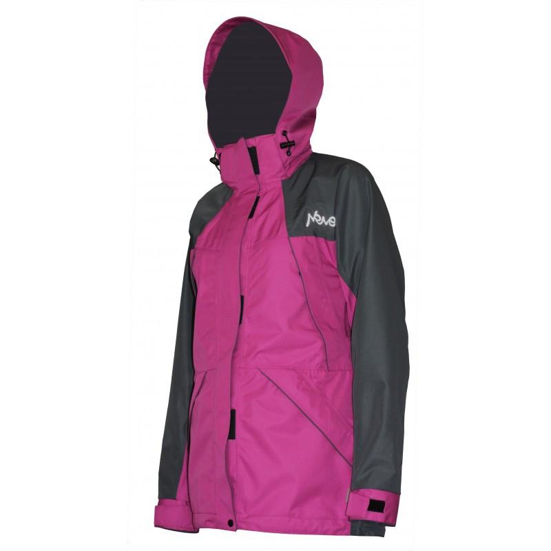 Мембранная штормовая женская куртка Neve Alice сиреневая