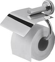 Держатель NOFER SIENA для 1 рулона бытовой туалетной бумаги, ВШГ 10.2х12.8х16 см, латунь, глянец