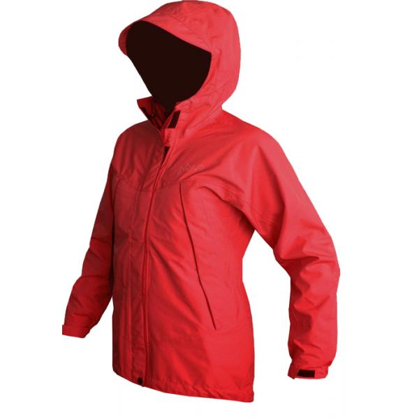 Мембранная штормовая женская куртка Neve ISOLA красная