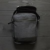 Спортивный мессенджер БРЮ ОСТИН серый, мужская сумка через плечо, барсетка